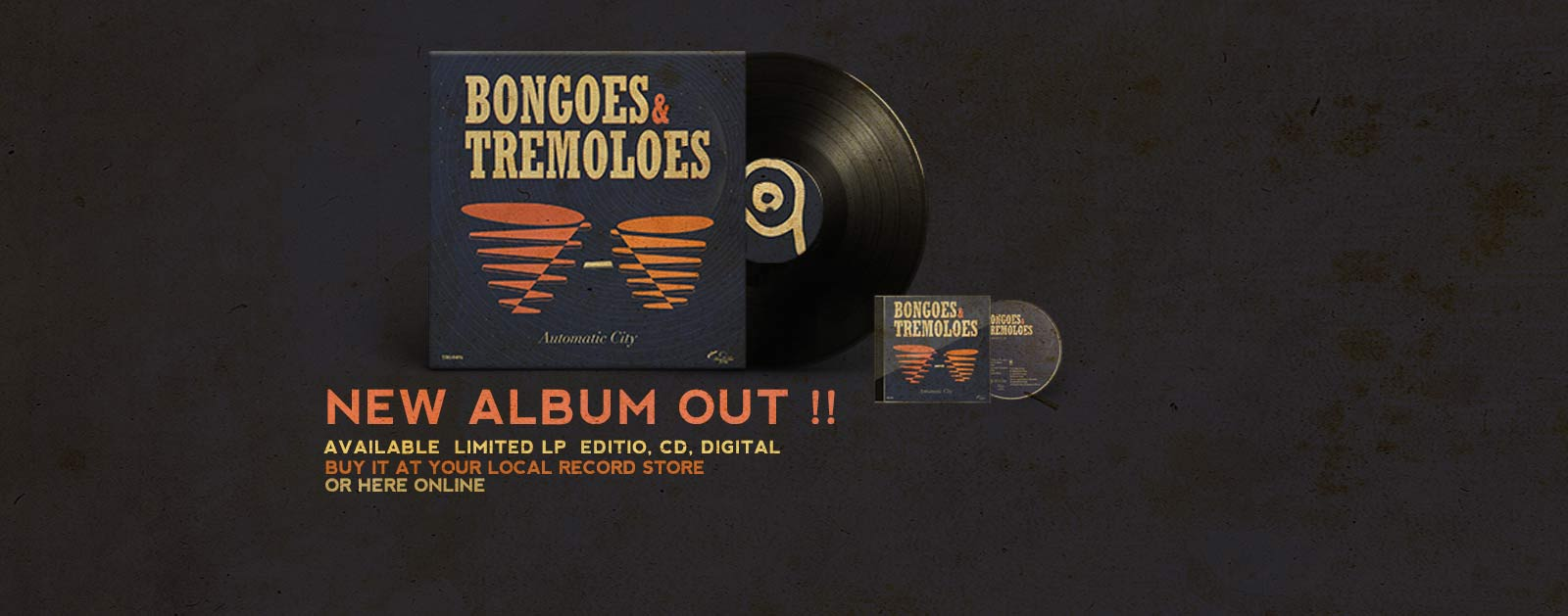 Automatic City new album Bongoes and tremoloes