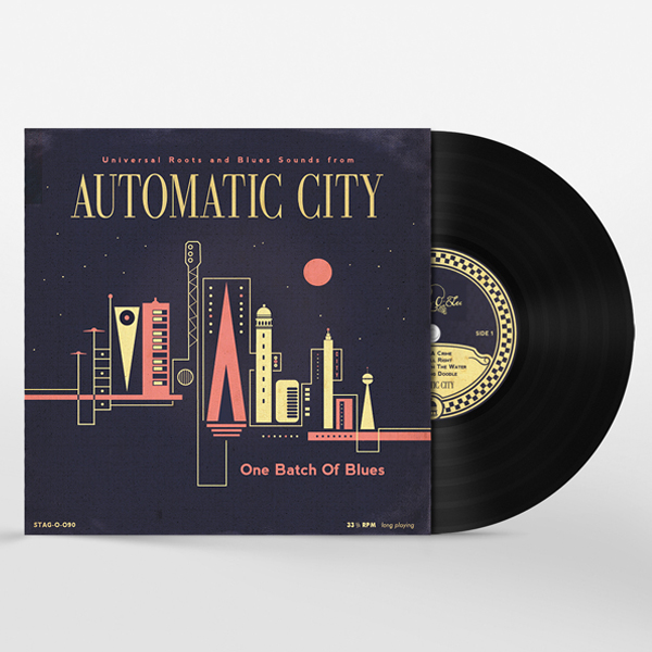 Automatic City one batch of blues-10 inch vinyl edition
